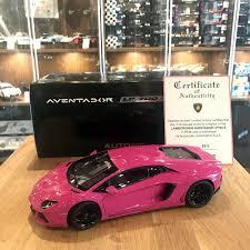 replica lamborghini interior autoart 1 18 lamborghini aventador lp700 4 pink black wheels
