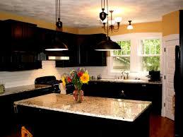 Size Of Kitchen Island by Kitchen Cabinets Adorable Black Kitchen Design Rectangular