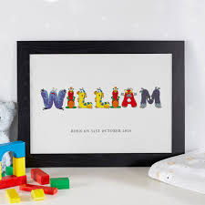personalized name personalized name prints canvases for children