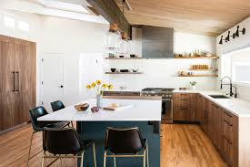 mid century modern walnut kitchen cabinets custom walnut diy painted slab ikea kitchen boulder co