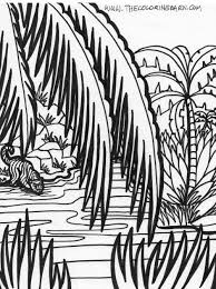 safari jeep coloring page jungle scene coloring pages pages sheets and pictures bible