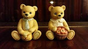 Home Interior Bears Vintage Home Interior Porcelain Bears Papa 1405 Honey Dress
