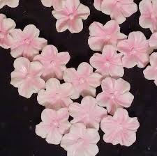 flower fondant cakes 24 edible blossom any color gum paste fondant flowers