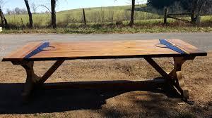Rustic Farmhouse Dining Tables Farmhouse Table Also With A Large Farmhouse Dining Table Also With