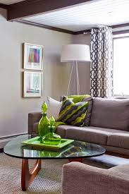 floor lamp with tray living room eclectic with none