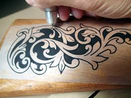 wood carving relief custom engraving power carving carver engraver