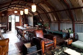 Eclectic Interior Design Eclectic Interior Design Studio Fashioned From A Wwii Quonset Hut
