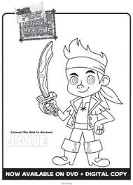 printable pack jake neverland pirates colouring pages