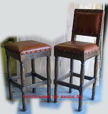 rustic leather bar stools u2013 vitalyze me