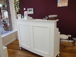 Tufted Salon Reception Desk Vintage Salon Reception Desk U2013 Valeria Furniture