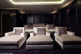 Home Cinema Design Uk The Real Cost Of George And Amal Clooney U0027s Home Cinema In Their