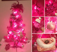 christmas blurred christmas lights pink areapink with white wire