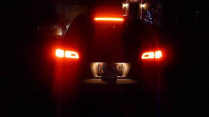audi brake light audi a6 avant led taillights