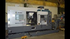 okuma multus b300w 6 axis cnc turn mill multitasking machine w