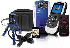 amazon com kodak playsport zx5 waterproof pocket video camera