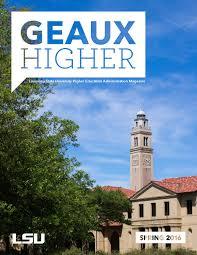 Lsu Union Help Desk by Geaux Higher Magazine By Lsu College Of Human Sciences U0026 Education