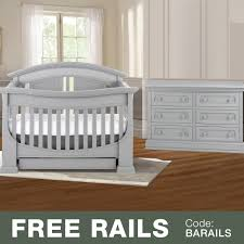 Bed Rails For Convertible Cribs by Baby Appleseed Chelmsford 2 Piece Nursery Set Convertible Crib