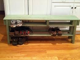 Bench Shoe Storage Diy Pallet Shoe Storage Bench Design Ideas Pallets Designs