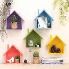 oggetti decorativi casa retro in legno appeso a parete decorazione della casa rack di