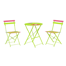 Folding Bistro Chairs Living Express Outdoor Folding Bistro Set Of Table And 2 Chairs