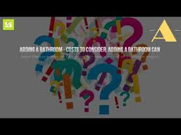 How Much To Build A Bathroom How Much Does It Cost To Build A New Bathroom Youtube