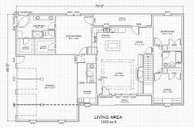ranch house floor plans with walkout basement u2014 harte design