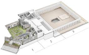 louvre museum floor plan research villa diomedes project