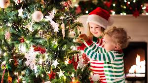 make decorating the christmas tree a learning game for kids what