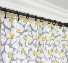 Yellow Gray Curtains Homey Ideas Grey Yellow Curtains Also Two Curtain Panels Floral