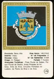 ladario nero oliveira de frades bras磽o de oliveira de frades coat of arms