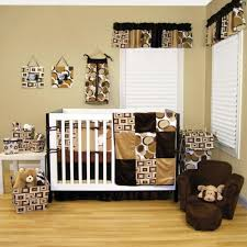 Polka Dot Curtains Nursery by Baby Nursery Baby Nursery Theme With Matched Furniture Brown