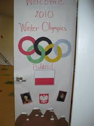 Door Decorations For Winter - winter olympics door decorating contest door contest 009 jpg