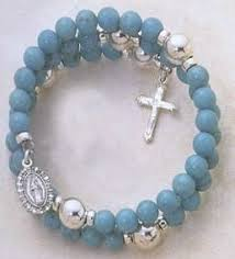 rosary bead bracelet how to make a coil rosary bracelet rosary bracelet bracelets and