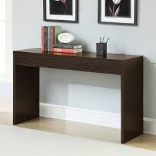 convenience concepts console table shop convenience concepts northfield espresso console table at lowes com