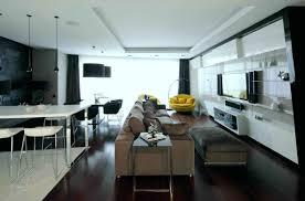 Leather Sofa Set Apartment Varnished Hardwood Floor And Cream Leather Sofa Set