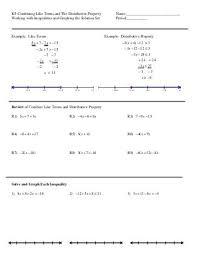 algebra algebra 1 combining like terms worksheet free