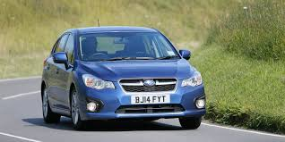 raised subaru impreza subaru impreza review carwow