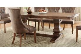 Marie Louise Rectangular Trestle Dining Table By Homelegance - Trestle kitchen table