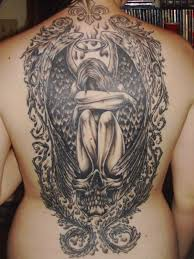 angel tattoo designs and ideas for men and women crying angel