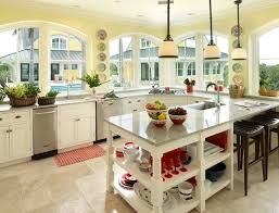 yellow and white kitchen designs cabinets ideas photos home