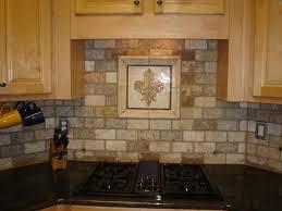 Traditional Kitchen Backsplash Interior Stunning Travertine Tile Backsplash Back Splash