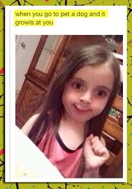 Weird Girl Meme - this little girl s face just made my day