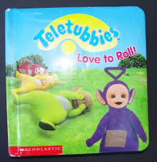 free teletubbies love roll baby child book books
