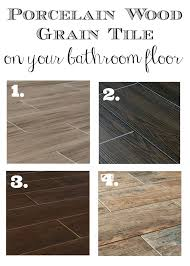 bathroom tile flooring ideas best 25 wood grain tile ideas on porcelain wood tile