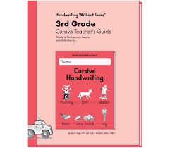 cursive learning without tears