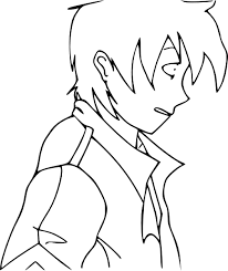 anime coloring pages coloring pages print