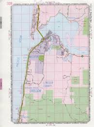 Map Of Oregon Highways by Waldport Map