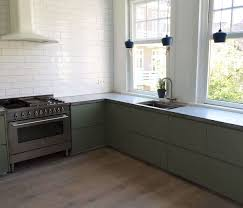 ikea grey green kitchen cabinets ikea kitchen upgrade 11 custom cabinet companies for the