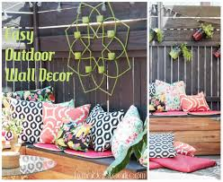 outdoor wall decor diy if you like it then you should put a frame on it diy wall decor