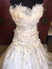 feather wedding dress feather wedding dress ebay